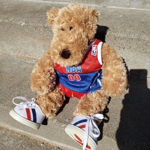 Long Nose Plush Build A Bear NBA Outfit With Shoes